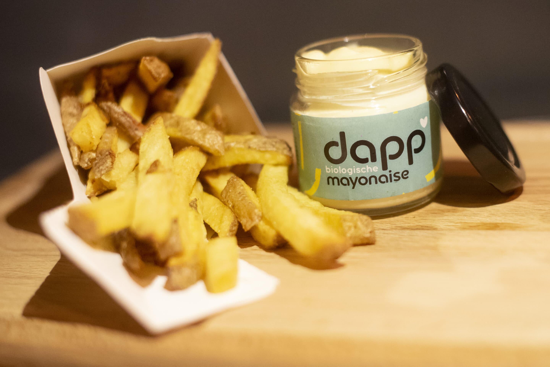 biologische mayonaise met friet